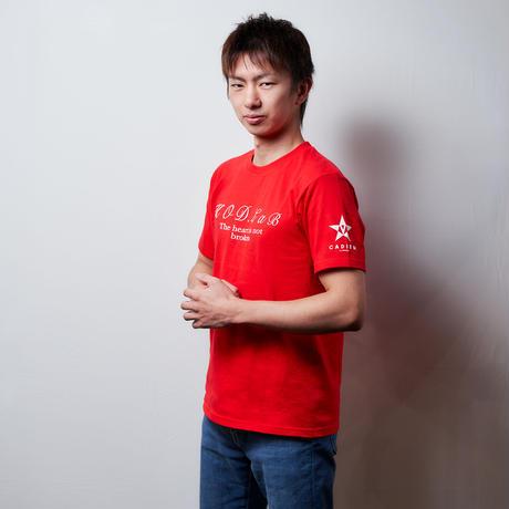 KOD Tシャツ 赤