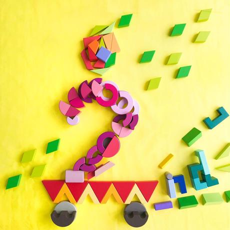 2019/7/26開催 祝こどもフェリシモ2歳!絵本読み聞かせと発展体験あそび・組む積み木クームを使った不思議ケーキ作り
