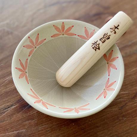 4.5号すり鉢 もみじ_ピンク