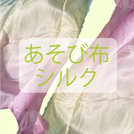 虹染めシルク ボーダータイプB