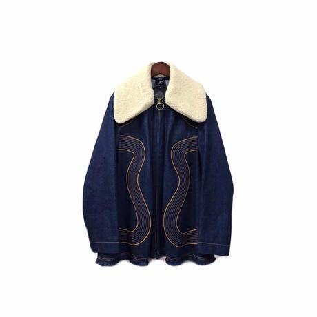 karen walker - Boa Design Denim Jacket (size - US4) ¥18000+tax