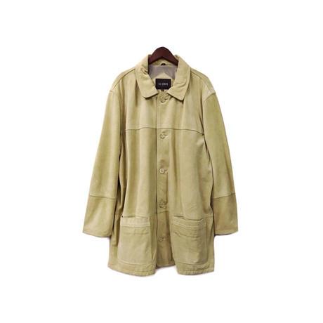 USED - Suede Half Coat ¥16000+tax