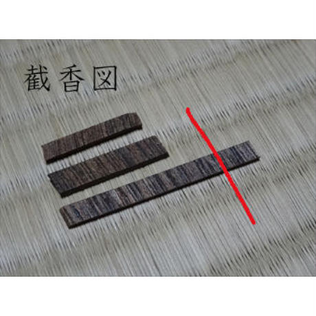 香木 仮銘「春ゆく水」寸門陀羅(沈香) 0.33g