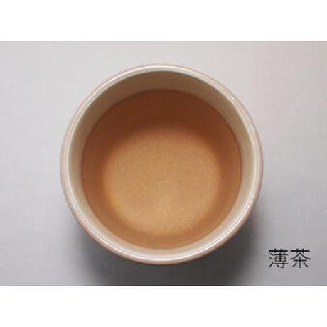 粉引聞香炉 赤茶・薄茶