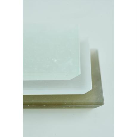 kiriiro 香皿 角 白緑