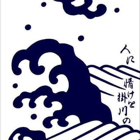 日本駄右衛門の浴衣・白