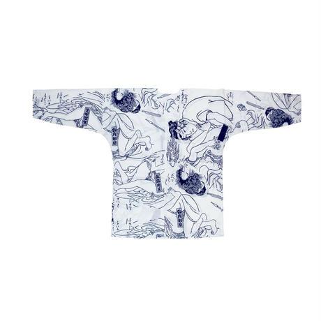 春画の鯉口シャツ