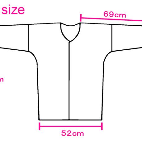 くまちゃんの鯉口シャツ