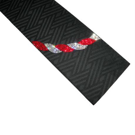 紅白の半巾帯