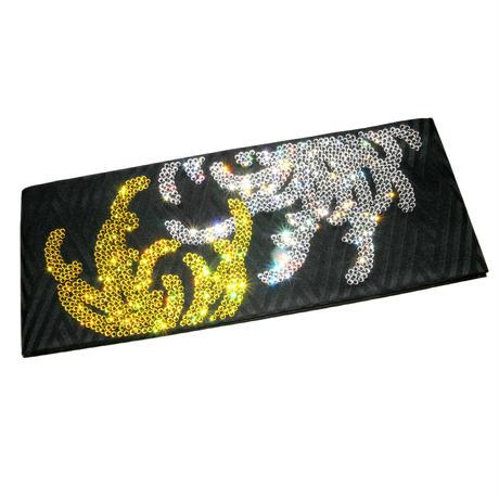 乱菊の半巾帯