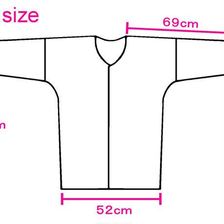 縦縞の鯉口シャツ