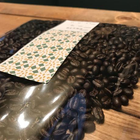 300gパック 珈琲豆2種セット 深煎りAセット
