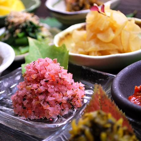 鹿児島より…ご飯のお供に7種お漬物セット