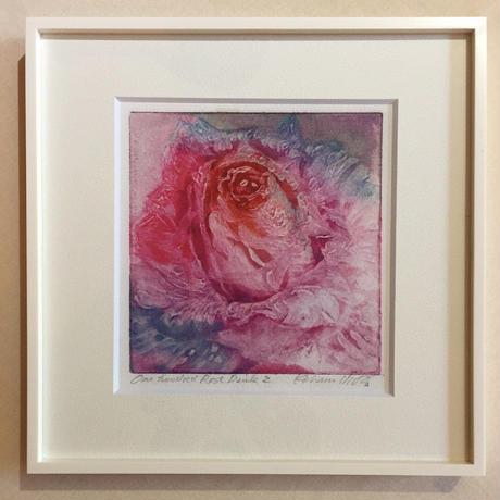 """アートプリント・シリーズ """"One hundred rose - 022 Pink V"""""""