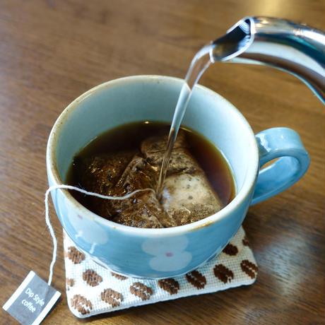 ディップスタイルコーヒー&珈琲豆柄ごぎん刺しコースターセット