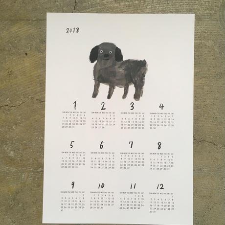 犬のカレンダー ジョリー