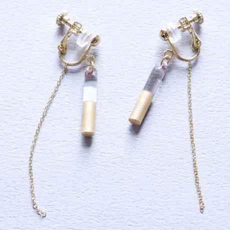 14kgf Good News Chain earrings