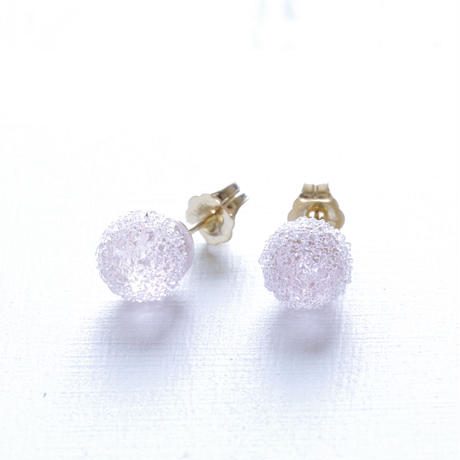 14kgf Bon Bon earrings Sakura