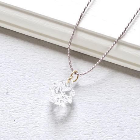 Stardust necklace / Silk code+14kgf