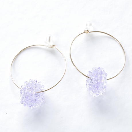 14kgf Mizore hoops Lavender