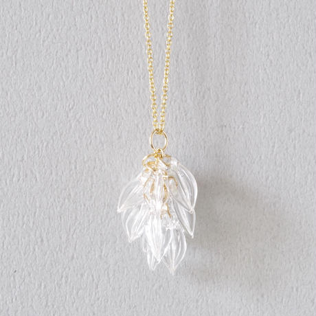 Seeds necklace / 14kgf Chain
