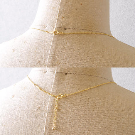 Stardust necklace/ 14kgf Chain