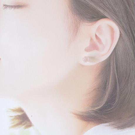 14kgf Bon Bon earrings Sakura