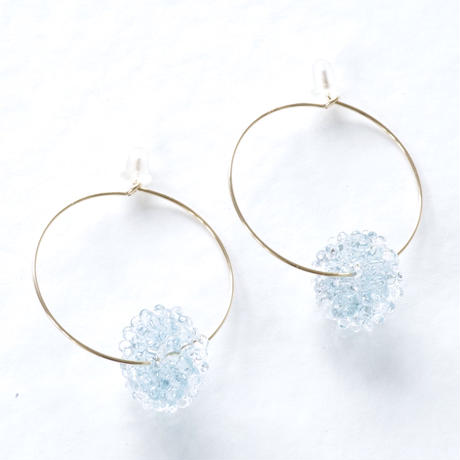 14kgf  Mizore hoops Ice Blue