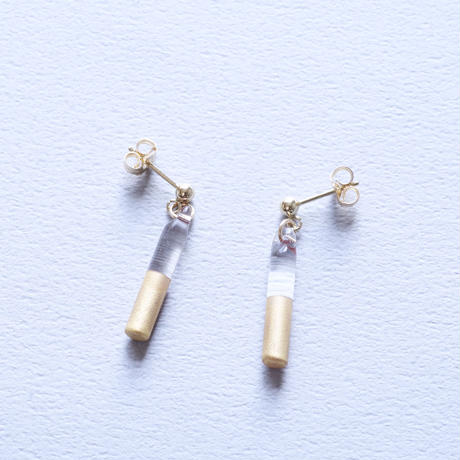 14kgf Good News earrings