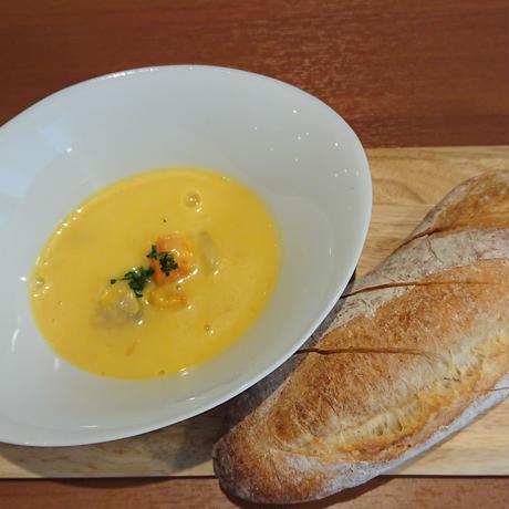鶏とゴボウのポタジェ・ライスソース 常温保存可能なレトルトタイプ(クルトン付き)