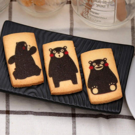 【くまモンのクッキー】くまたいム 15枚入