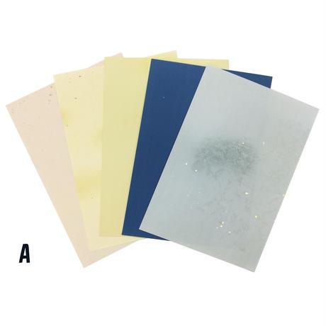 【数量限定】半懐紙 多種混合(5枚入)