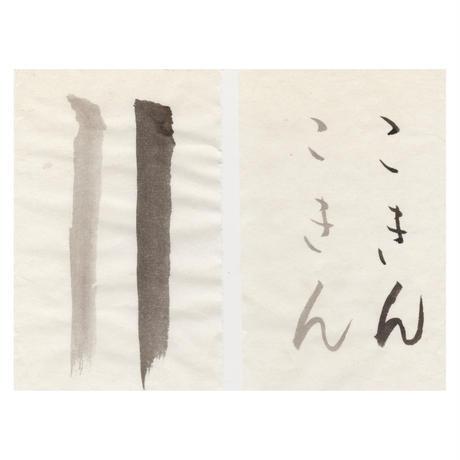 【こきん蔵出し商品】特価 1.75尺×7.5尺 から松 (茶ぼかし)10枚入