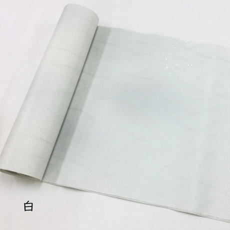 尺×6尺 本楮 全体ぼかし全面ギラ型打 銀砂子振り