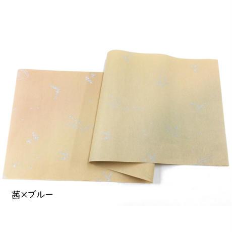 30×95㎝ 本楮紙 染両スミぼかし36人集紋様 1枚売り