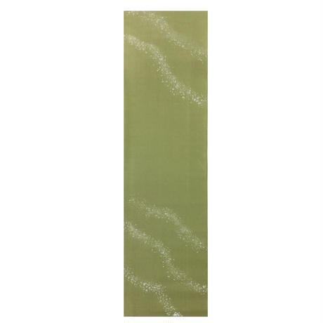 【在庫限り】半切 手漉画仙具引 濃色染 水泡ボカシ 銀砂子振 1枚売り