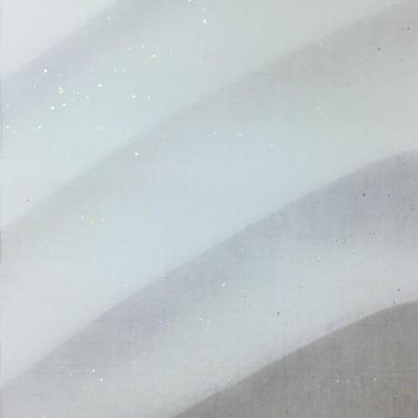 半切 画仙 多色霞ぼかし金銀砂子 (1枚売り)