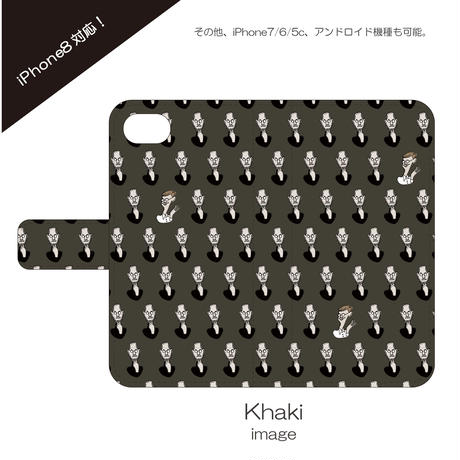 monanas iPhone 手帳型 [jobs TOKIDOKI gates]