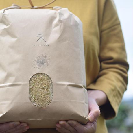 【年間購入/月1回12回発送/各月払い】自然栽培 ササニシキ  -玄米-  5kg x 12
