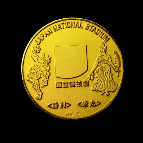【予約生産】国立競技場記念メダル 純金メダル(小)