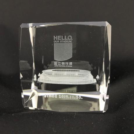 国立競技場 3D オプティカルガラス