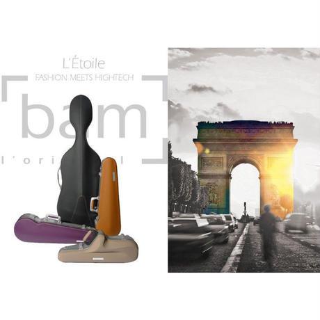 バイオリンケース bam ET2002XL L'ETOIRE エトワール/ピンク【新バックル】