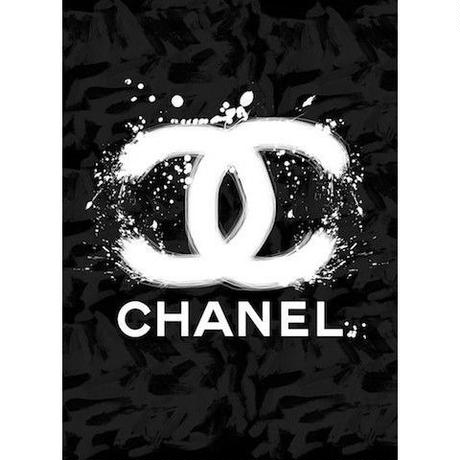 キャンバス530×410×D20mm 【 CHANEL SPRAY #td42 】