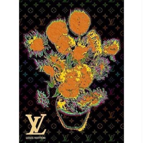 キャンバス410×273×D20mm 【Van Gogh Sunflowers #sh11】