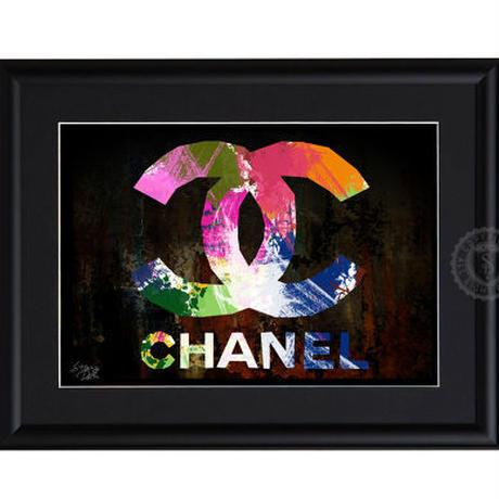A4 ポスターフレームセット  【 CHANEL paint #hi20 】