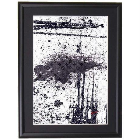 【A4サイズ】Louis Vuitton Abstract  ポスターフレームセット