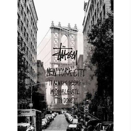 キャンバス410×273×D20mm  【 New York City #td36 】