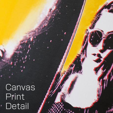 シャネルマトラッセ ディズニーバンビ オマージュアート キャンバス_P10P20サイズ『Blues』