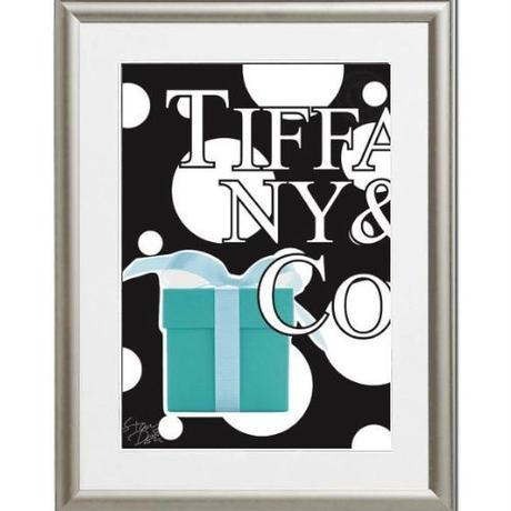 A4 ポスターフレームセット 【 TIFFANY ART #yg09 】