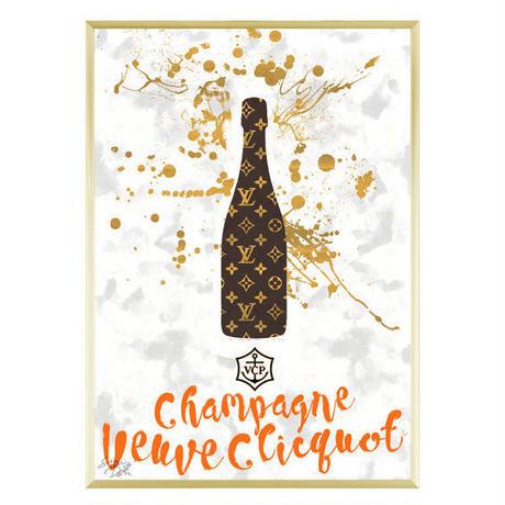 A1 ポスターフレームセット 【 Veuve Clicquot #td32 】